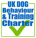 As a full accredited member of The Association of Pet Dog Trainers (www.apdt.co.uk) I am able to display this symbol.